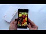 Первый видео обзор Jiayu G3  Video review Jiayu G3