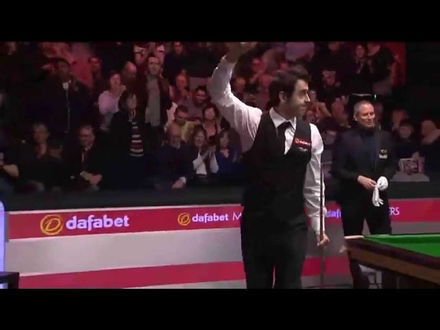 Ronnie O'Sullivan's 775 century break with amazing fluke