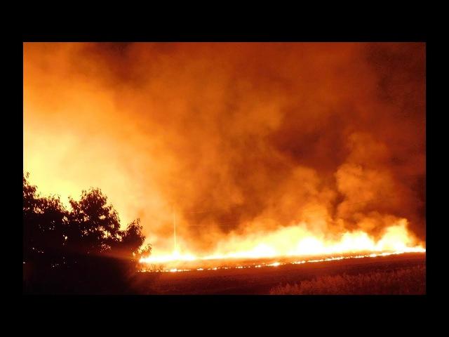 Пожар.Сильный огонь.Фото.Вогонь Україна.