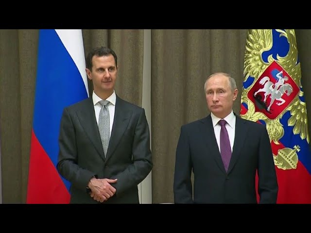 Putin parabeniza Assad por 'luta contra o terrorismo'