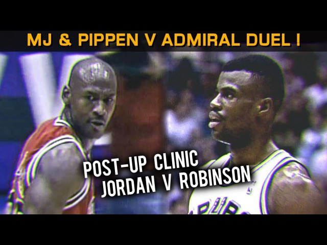 Jordan, Pippen Admiral: Hall Of Famers Duel at Mr. Robinson's Neighborhood! (11.22.1995)