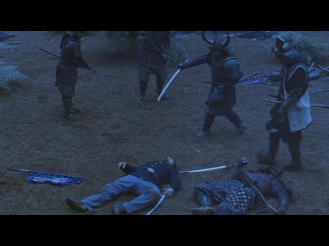 Последний самурай Кацумото приказывает взять Олгрена в плен