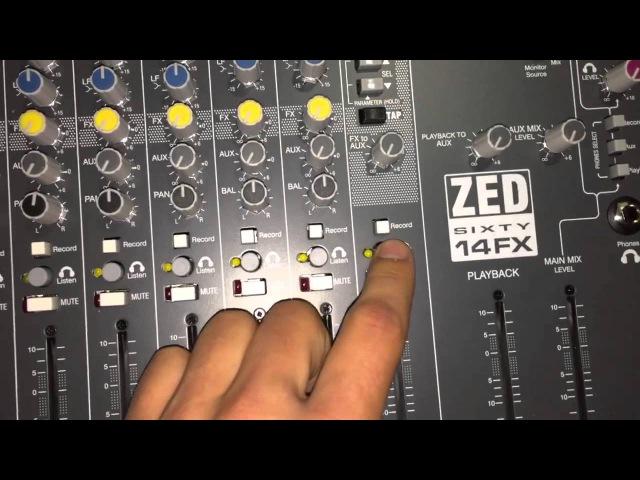 Allen Heath zed60-14FX обзор на русском » Freewka.com - Смотреть онлайн в хорощем качестве