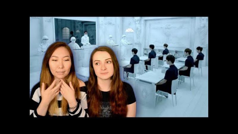 Реакция на k-pop академия к-попа и голодные танцевальные игры Reaction to BTS No 2much