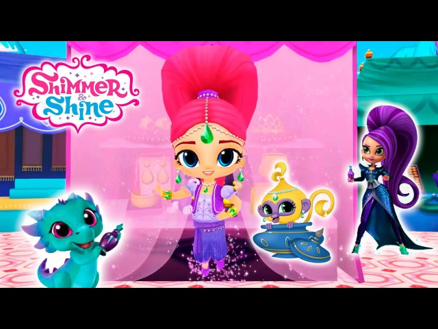 Shimmer and Shine Magical Genie Games Fun Kids Games