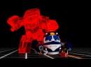 Мультфильм для детей про паровозики – Роботы-поезда 🚄 🤖–Незваный гость– тра ...