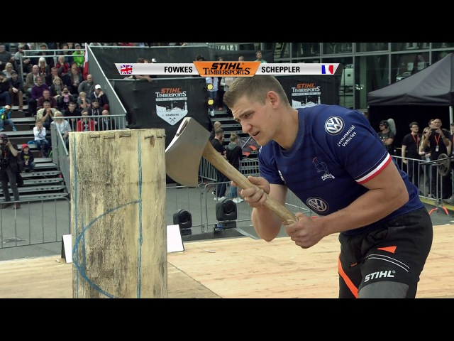 STIHL TIMBERSPORTS® Rookie World Championship 2017
