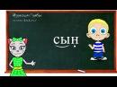 Уроки 10-12. Учим буквы Л, Н и К, читаем слова и предложения вместе с кисой Алисой (0 )