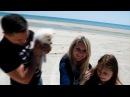 А мы на море/ дикие пляжи Степка (Федотова коса, Азовское море)/ обзор палатки нор ...