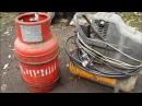 Газ из пластика и резины закачиваем в баллон эксперимент №5