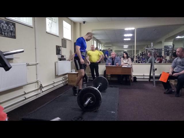 Становая тяга 160 кг | Alxndr Fato