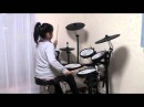 Rainbow - All Night Long Drum Cover Sona 7歳
