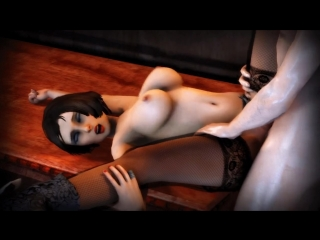Elizabeth fucked on a table (bioshock infinite) blowjob cartoon porn порно мультфильм full hd xxx 1080