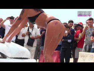 Sexy car wash 9 - sexy girls car wash | lisa ann, mia khalifa, riley reid, dillion harper, peta jensen 2017