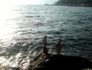 Камни на фоне моря.....красиво