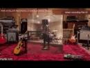 Адам Ламберт  на  записи в студии 2017