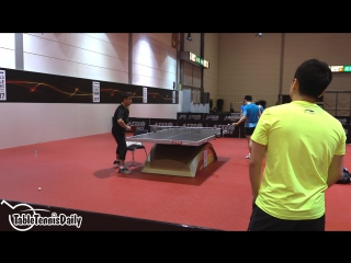 2017 World Championships  Fan Zhendong Multi Ball Training