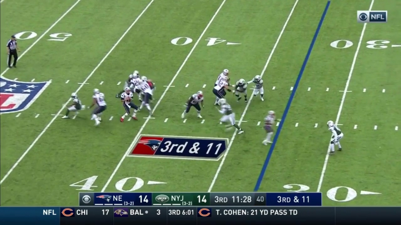 Brady Connects w/ Gronk for a Huge TD to Take the Lead!