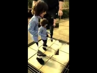 happily childly dance for Aryan Suhana