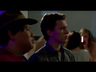 Человек-паук Возвращение домой  Spider-Man Homecoming Смешные неудачные дубли со съёмок (2017)