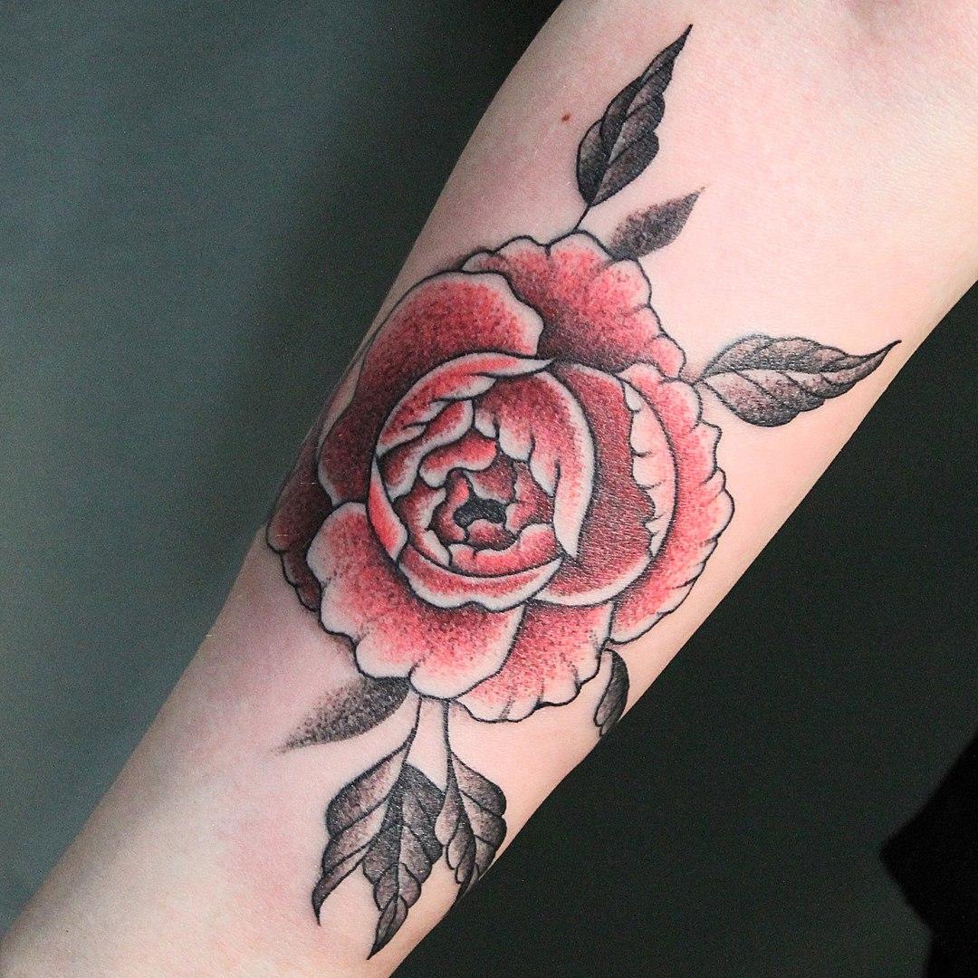 Художественная татуировка. Мастер Никита Сальников