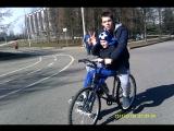 Открытие велосезона Я и мой младший брат Данила катались в Парке Победы