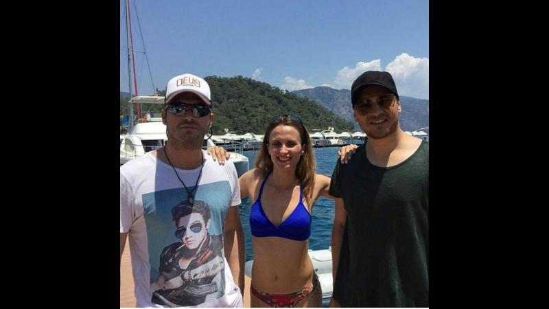 İÇERDE oyuncuları tatilde. Actors on holiday(02072017)