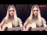 Баста - Сансара (cover by Даша Волосевич),красивая милая девушка классно спела кавер,красивый голос,талант,поёмвсети,шикарно