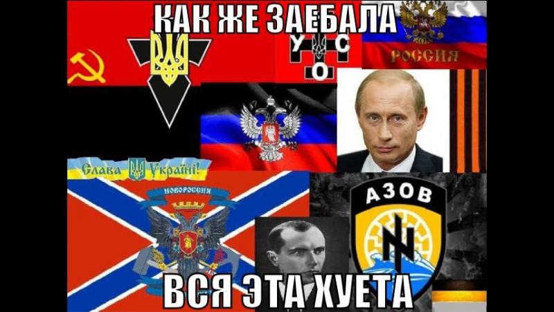 Реакция москалей на пикет против войны с Украиной