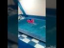 Очередной заплыв дочек