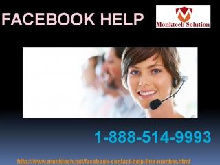Get Instant Facebook Help Call Us 1-888-514-9993