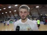 Андрей Батырев о тренировках в сборной России, качестве паркета и игровом времени
