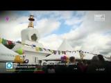 Ступу Просветления торжественно освятили и открыли в Отрадном