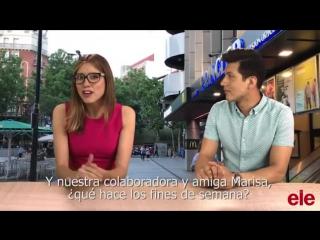 Agencia ELE - Vídeo 2_ ¿Qué hacéis los fines de semana-subtitulado
