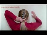 Как Плести Косы с Лентами Видео 5 Strand Ribbon French Braid Headband on Yourse