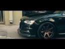 2014 Audi S4 на дисках Ferrada FR1 в цвете Matte Bronze with Gloss Black Lip