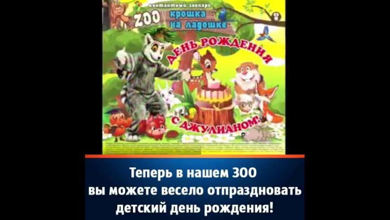 Контактный зоопарк Крошка на ладошке