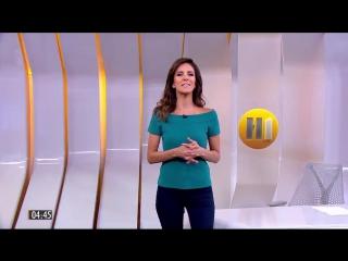 Hino do Corinthians é colocado em Chamada do Hora 1 - Rede Globo