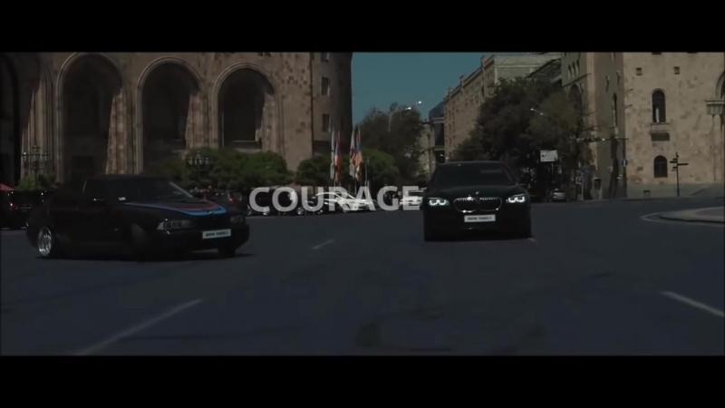 MiyagiЭндшпиль -без обид, бмв дрифт на площади Еревана 😍