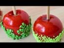 Яблоки в карамели. Леденцы