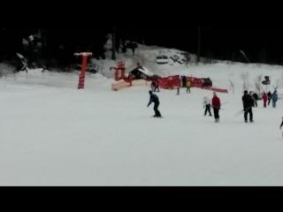 Первые шаги сноуборде