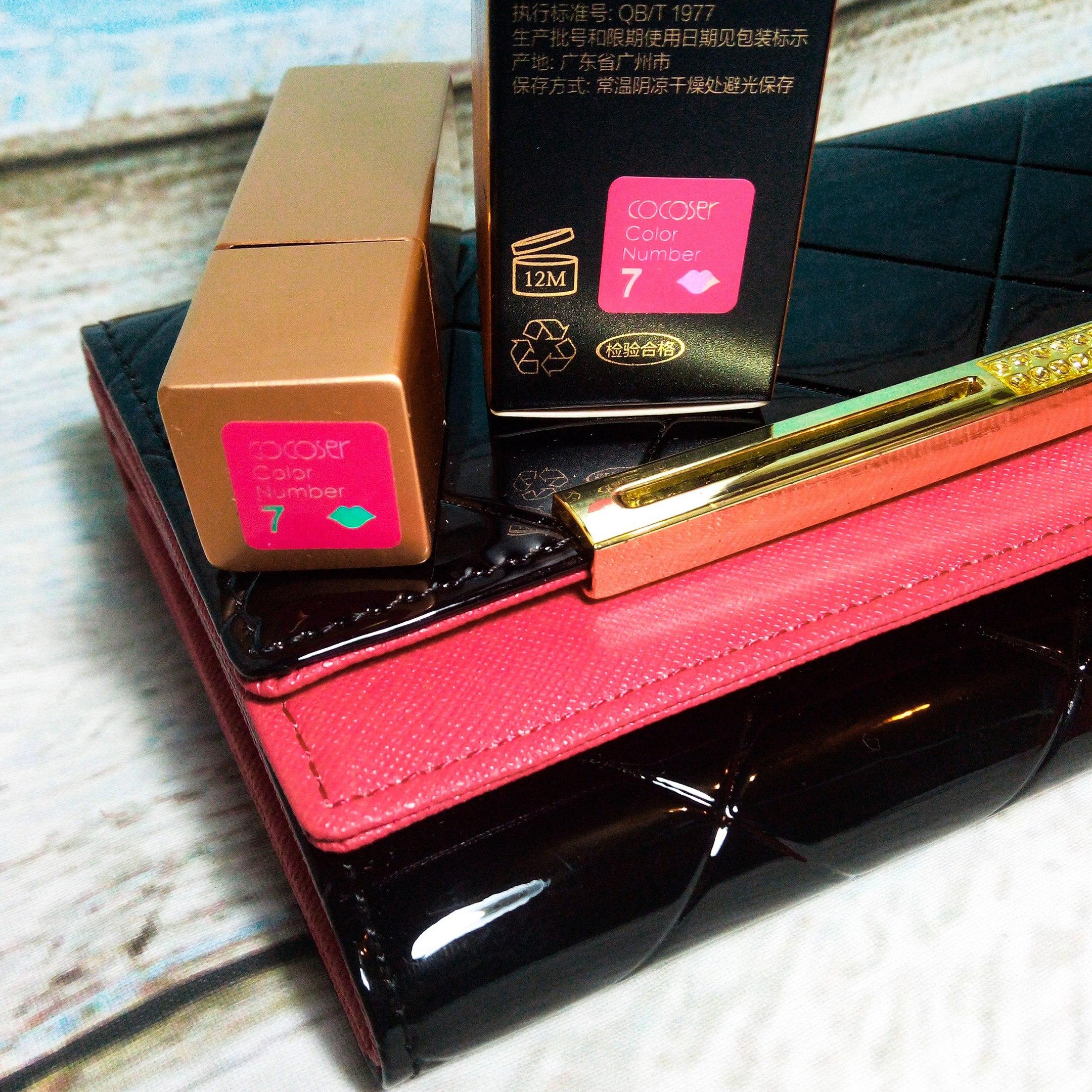 Обзор на матовую губную помаду из магазина Loumeis make up Co Ltd