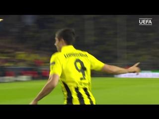 Robert Lewandowskis 4 goals against Real Madrid