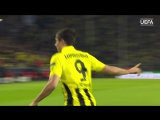 Robert Lewandowskis 4 goals against Real Madrid