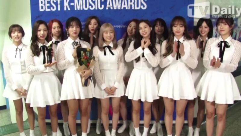 [BACKSTAGE] WJSN Won Hallyu Rising Hot Star Award 2017 Soribada Best @ Cosmic Girls
