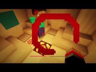 Мистик и Лаггер Minecraft Прохождение карты - МИСТИК ТАНК и я чёто-то там был в видео