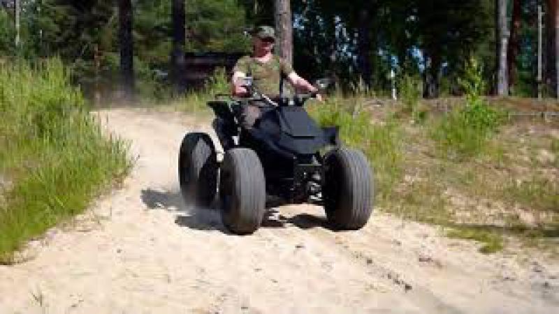 Квадроцикл своими руками