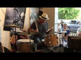 Chad Smith Drum Solo With Nancy Atlas