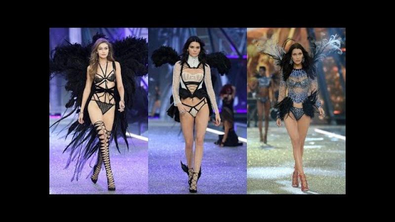 Gigi Hadid, Kendall Jenner Bella Hadid at The Victoria's Secret Fashion Show 2016