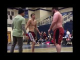 The Beast(165lb) vs big Wrestler(300+lbs) (plus other matches from absolute)
